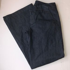 Woman's gap the trouser stretch ankle pants size 4